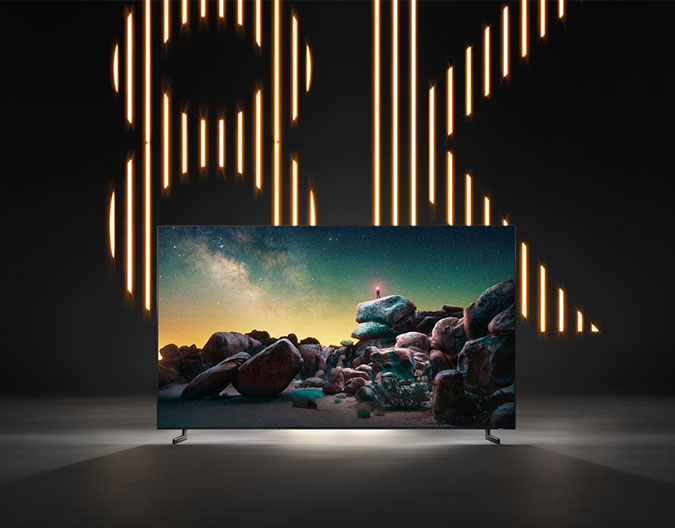Learn about 8K TVs